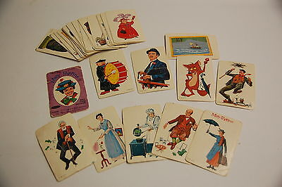 Whitman Mary Poppins deck of cards 1960's