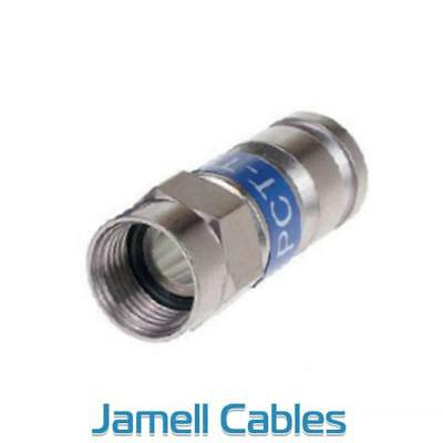 RG6 F Type connector Compression PCT TRS-6