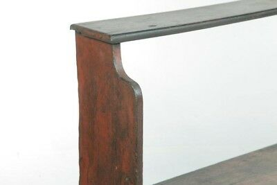 Primitive Painted Bucket Bench | Plant Stand | 19th Cen. Americana