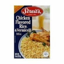 Streits Chicken Flavored Rice and Vermicelli Mix, 8 Ounce -- 12 per case.
