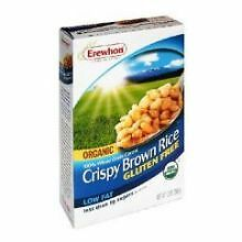 Erewhon Organic Crispy Brown Rice Cereal, 10 Ounce -- 12 per case.