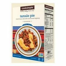 CookSimple Sweet Tamale Pie Mix, 11.8 Ounce -- 6 per case.