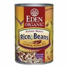 Eden Foods Organic Rice and Kidney Beans, 15 Ounce -- 12 per case