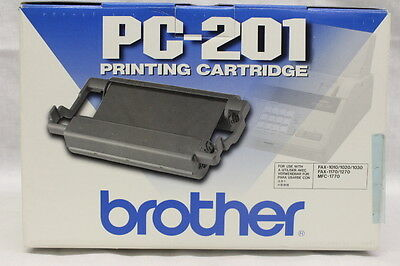 NEW Genuine OEM Brother PC-201 Fax Cartridge 1010/1020/1030/1170/1270/1770