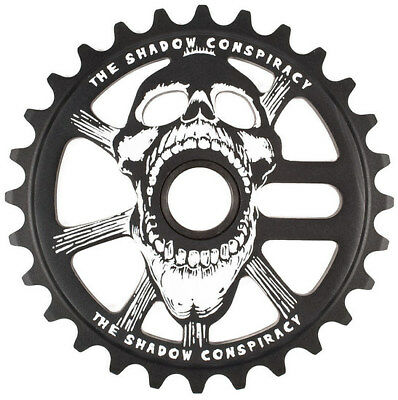 The Shadow Conspiracy Scream BMX Sprocket - 25T BLACK Scream Sprocket