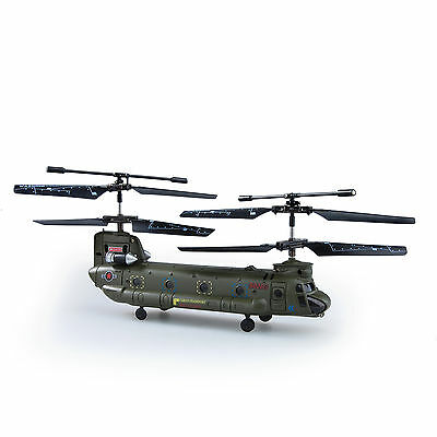Syma 16.5Cm S026G 3.5Ch 3CH Mini Chinook Rc Helicopter Gyro Small Toy Gift
