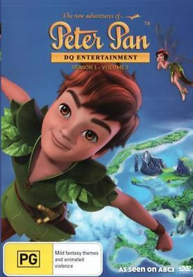 The New Adventures Of Peter Pan - Season 1 Volume 3 DVD R4 Brand New!