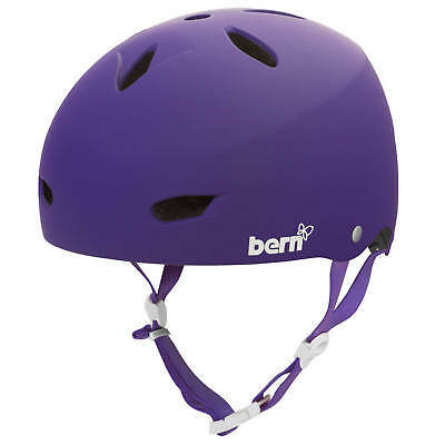 Bern Brighton Womens Bike Helmet - Summer EPS Matte Purple