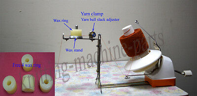 L2 Wool/Yarn Winder with wax stand has tightness controller Brother Singer knitt