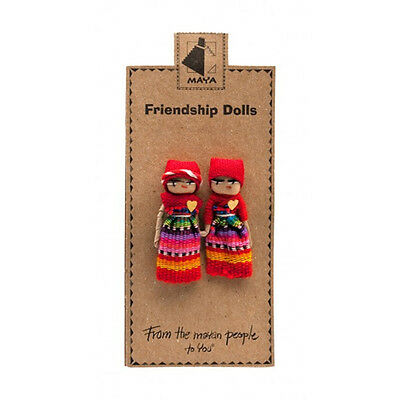 Quality Guatemalan Friendship Worry Dolls Best Friends Ethically Sources Gift