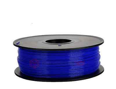 Fil Filament 3D PLA 1.75 mm Bleu Filament für 3D Druck Printer Spule 1kg