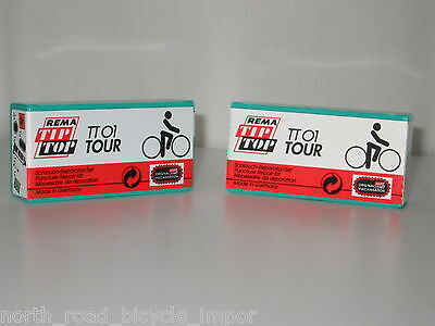 TWO Pack of Rema Tip Top TT 01 Tour Patch Kits - Stock UP with THE BEST PRICE!