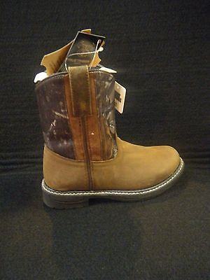 Cowboy Boots SMOKY MOUNTAIN TRUE TIMBER Camo Youth in Various Sizes Style #2463