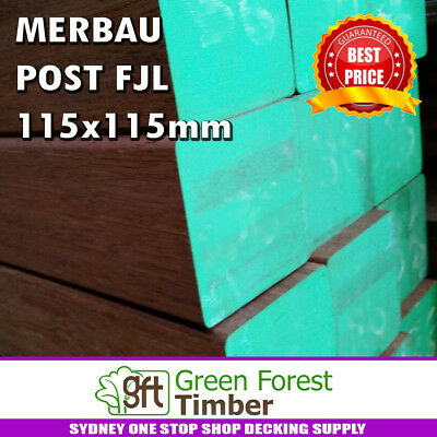 MERBAU POST FJL 115x115mm Sydney area