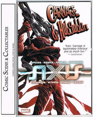 Axis - Carnage And Hobgoblin -  Tpb  {2015}