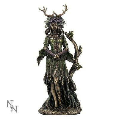 Lady of the Forest Beautiful Figurine Statue Ornament: Pagan Wiccan Goddess 25cm