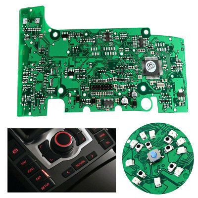 (With Navigation) Multimedia MMI Control Panel Circuit Board For AUDI A6 A6L Q7
