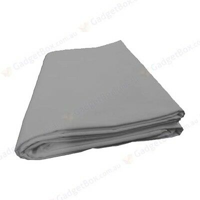 Studio photo solid grey muslin backdrop heavy duty high key background