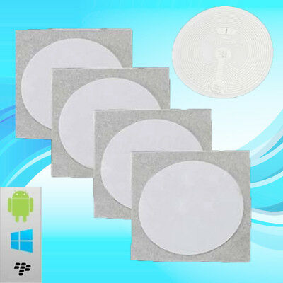 10x NFC Smart Tag Adhesive Label Sticker 1152 Bits for Samsung NTAG203 Universal