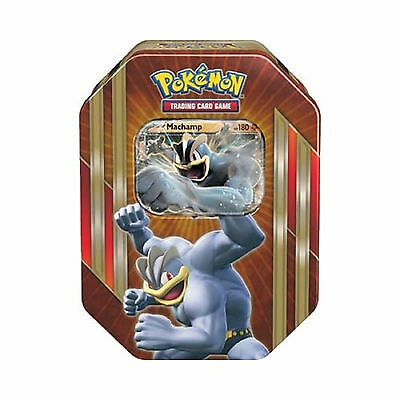 Pokemon Cards - Machamp Ex Spring 2016 Collectors Tin - Booster Packs + Promo