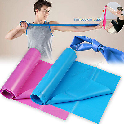 Fitness Equipment Elastic Exercise Yoga Resistance Loop Bands Tube Workout Band