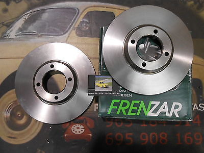 FZ613111 2 DISCO FRENO FORD FIESTA XR2 81->89 239´5 mm REF.1604636