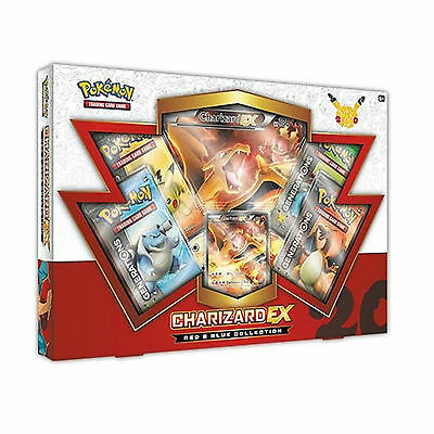 Pokemon Cards: Charizard Ex Red & Blue Collection Box: Generations Booster Packs
