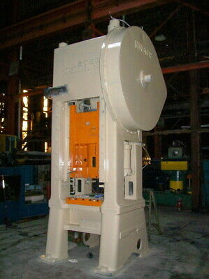 200 Ton Minster #S1-200-30-36 Straight Side Single Crank Press, S/N 23149