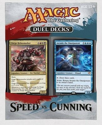 Duel Decks Speed vs. Cunning (Englisch) NEU OVP SEALED
