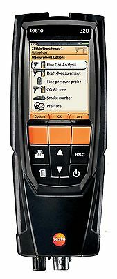 Testo 320 Combustion Flue Gas Analyzer Kit with Color Display. 0563 3220 70