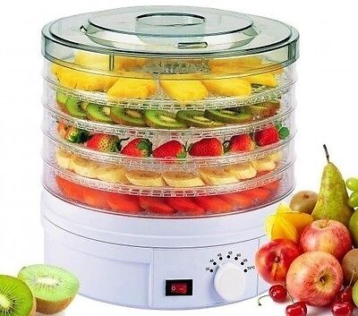 Dehydrator Drying Preserve Food Fruit Vegetables Machine Lunchbox Snacks Titbits