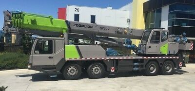 Truck Cranes - 2017 Zoomlion Qy30 - Brand New