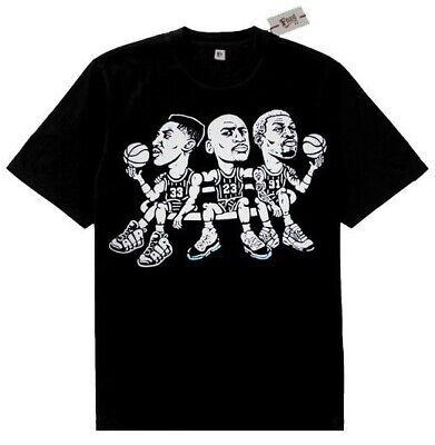New Black Fnly94 Pippen Jordan Rodman shirt match retro air  jordan concord 11