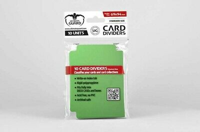 Ultimate Guard - Card Dividers Green  - Karten Trenner, Dividers