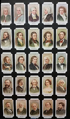 Card Collectors Society Full Repro Set of 50 - Wills - Musical Celebrities Ser 1