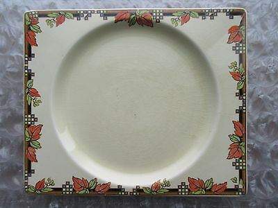 Old Vintage Great Britain Art Pottery Plate The Biarritz Royal Staffordshire