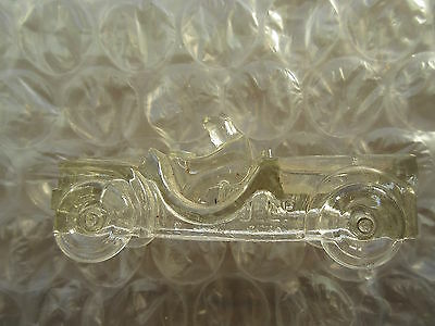Old Vintage Jeannette Glass Jeep Candy Container