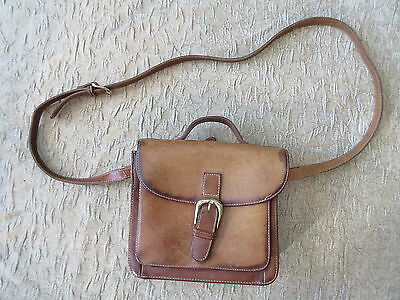 Old G.H.Bass Genuine Leather Purse Handbag