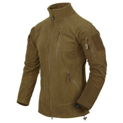 Helikon Tex Alpha Tactical Jacket Grid Fleece Coyote