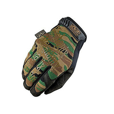 Mechanix Gloves Original Wear Woodland Camo Sports Gloves Airsoft Cycling Cadets