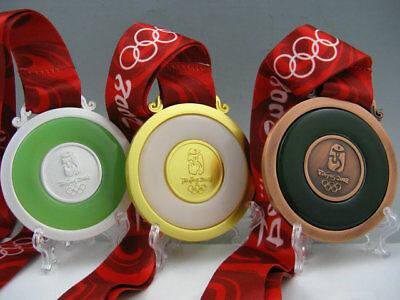 2008 BeiJing Olympic Gold Silver Bronze Medals Complete Set 1:1**Free Shipping**