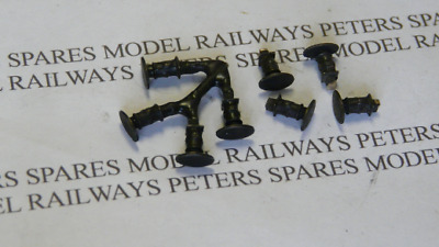 Peters Spares PS52 Replacement Mainline Class 42 Warship Buffers (Pk4) Blackened