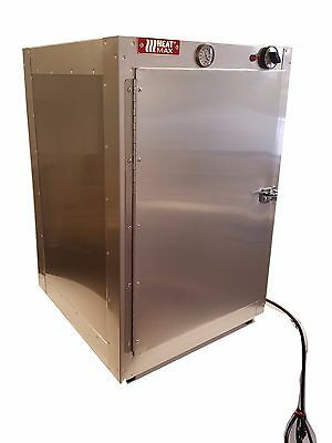 Commercial Food Warmer HeatMax 19x19x29  Hot Box  Pizza Catering Concession Case