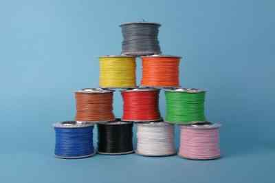 Gaugemaster 100 Metres of Blue Layout Wire on Reel 7 Strand 0.2mm