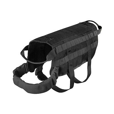 Usa Seller Tactical Dog Vest Harness K9 Molle Hunting Training Military Xs - Xl