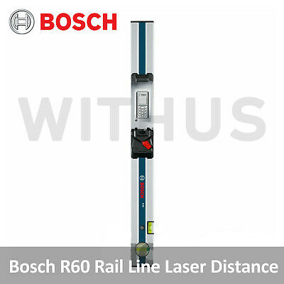 Bosch R60 Dedeicated Rail for GLM 80 (Line Laser Distance and Angle Measurer)