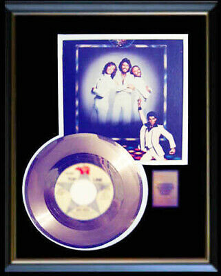 Bee Gees Rare Gold Record Disc  45 Rpm Saturday Night Fever Staying Alive