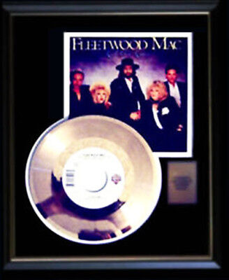 Fleetwood Mac Gold Record Disc 45 Rpm  Little Lies With Sleeve Rare