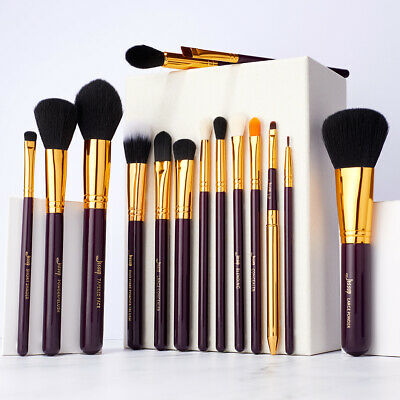 Jessup 15Pcs Pro Makeup Brushes Powder Foundation Cosmetics Make Up Brush Set