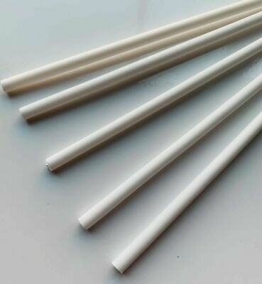 "CAKE DOWELS 4 x 12"" 8MM THICK LONG CAKE DOWELLING Rods Support Tiered Sugarcraft"